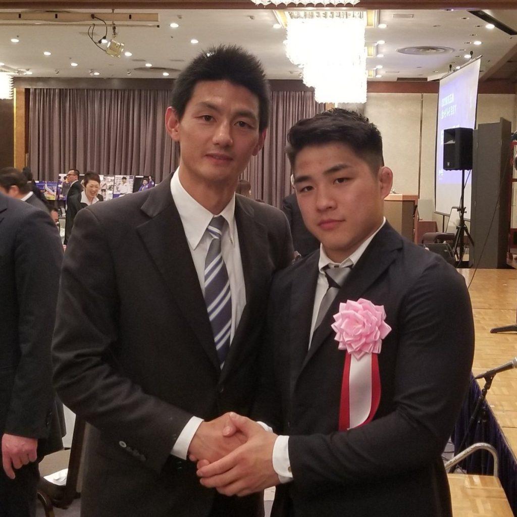 安昌林選手と安英学選手