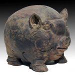 15世紀の豚の貯金箱