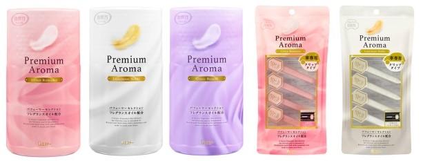 「消臭力 Premium Aroma」シリーズ