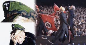 BTSがナチスを連想させる衣装や旗