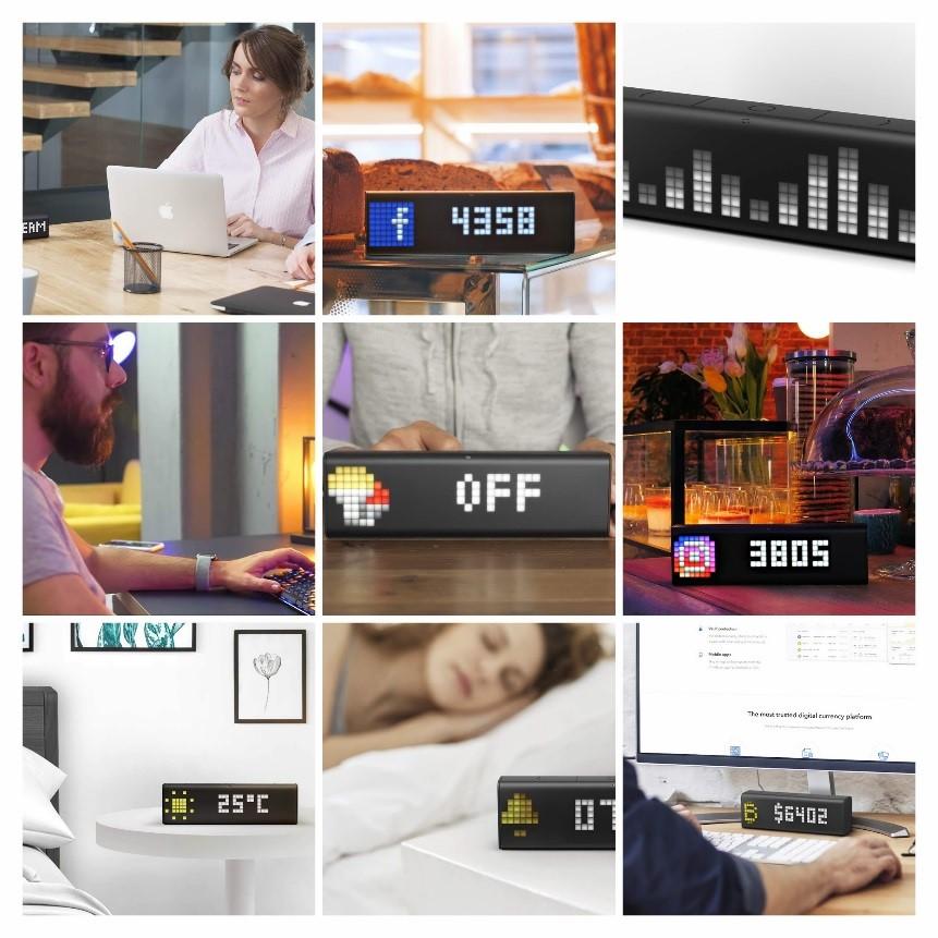 IoTスマートクロック&ディスプレイ「LaMetric TIME