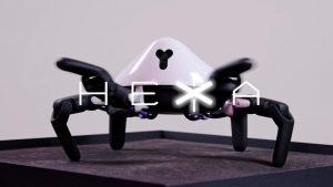 6足歩行ロボット「HEXA」