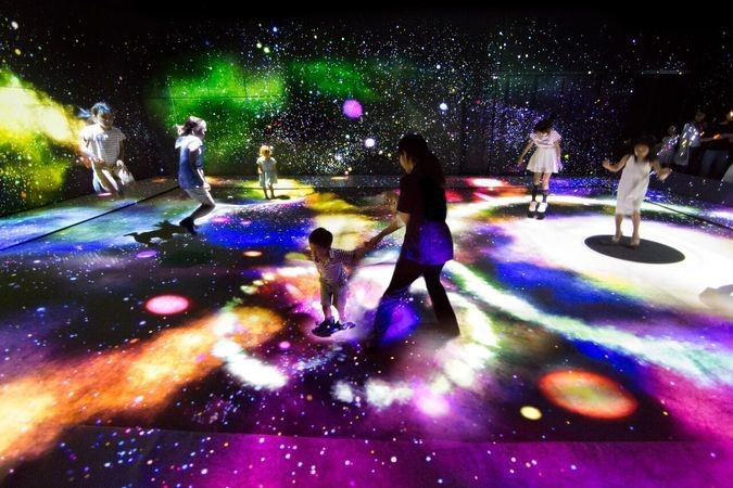 MORI Building DIGITAL ART MUSEUM: EPSON teamLab Borderless(東京都)